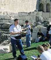CES teacher in jerusalem