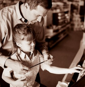 parents harmonizing with children
