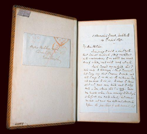 Dickens letter