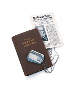servicemen's editions of the Book of Mormon and the Church News