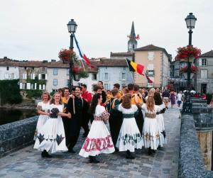 Dancers in France
