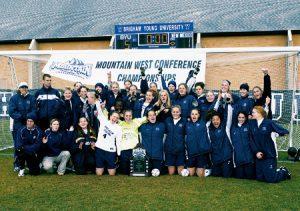 2002 Women's Soccer Team