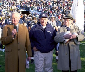 President Bateman at a BYU Football game