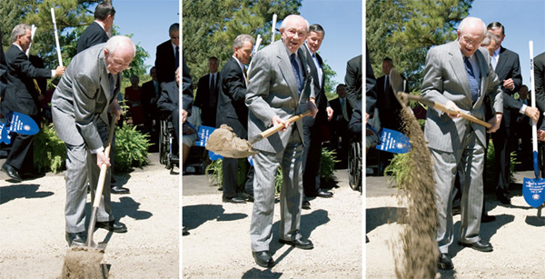 Gordon B. Hinckley Breaking Ground