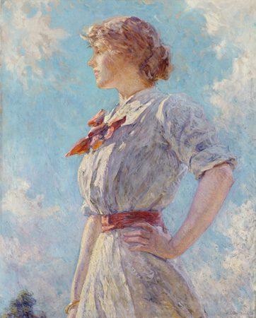 Against the Sky, 1911, Robert Reid (1862-1929)