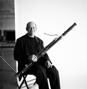 Ray Smith with the Bassoon