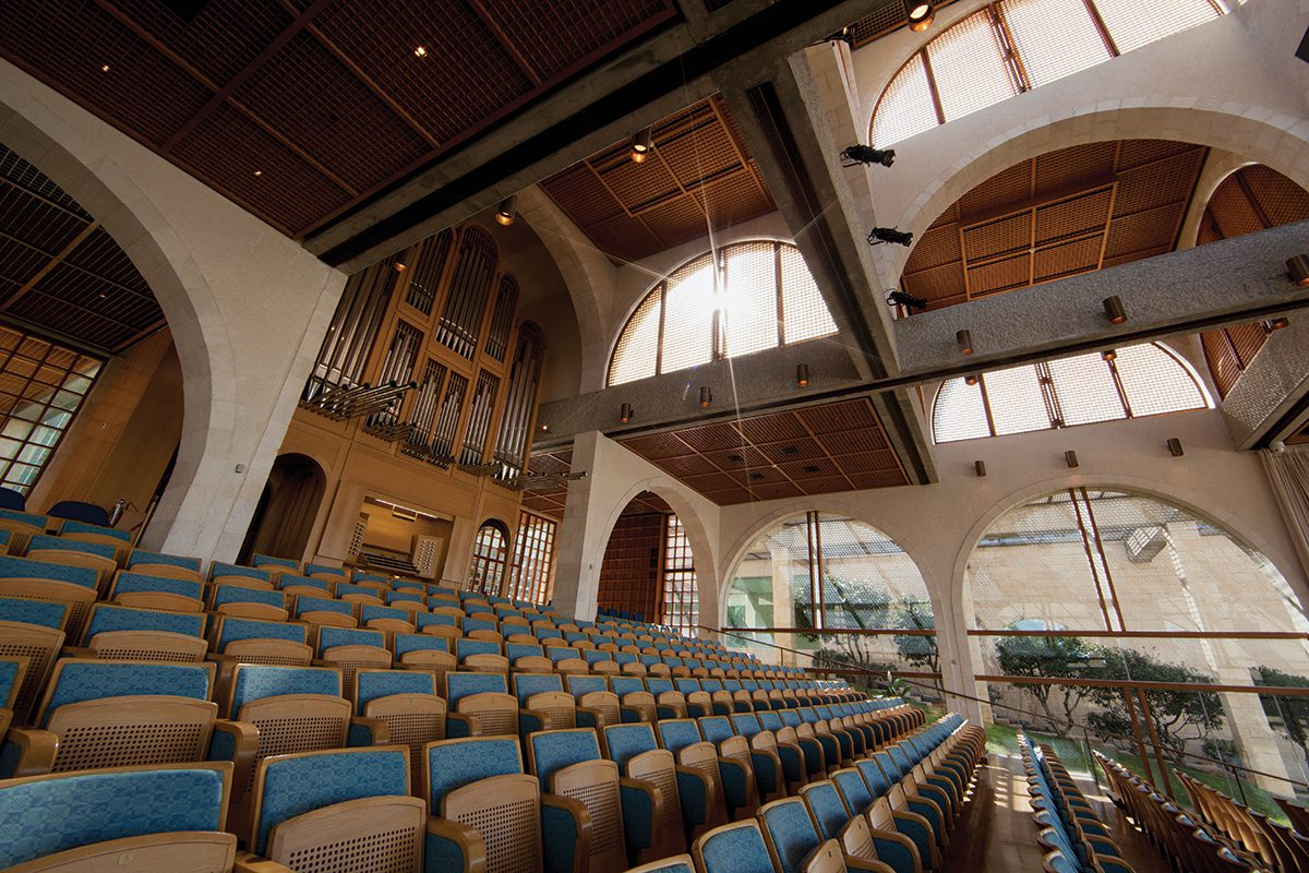 BYU Jerusalem Center auditorium