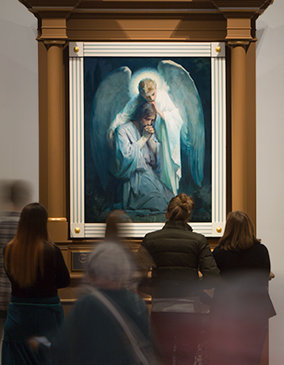 Works Of Grace Religious Paintings At Byu S Museum Of Art