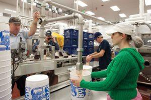 creamery workers