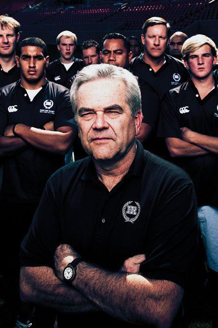 FA09_3649 coach Cole with team