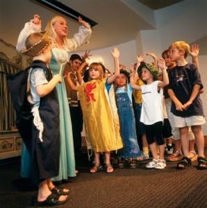 Children Learning Shakespear