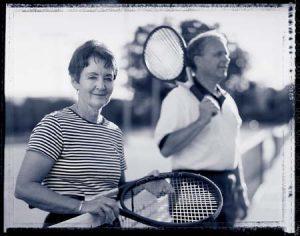 Margret Blake and Husband