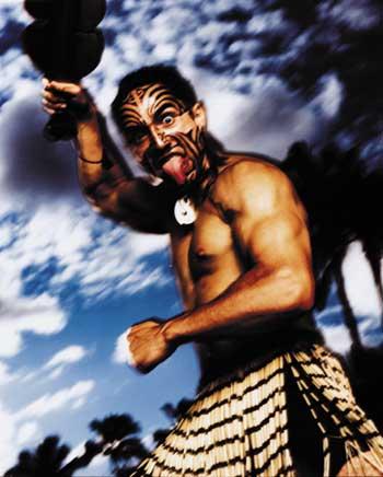 Maori warrrior