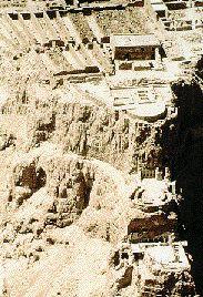 Masada excavated