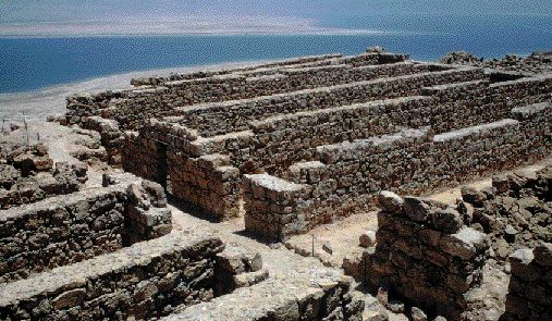 ruins atop Masada
