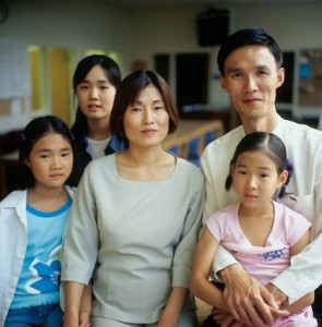 Jongwoo Lee family