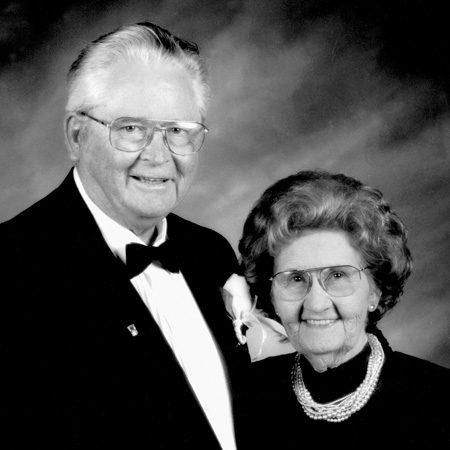 Pete and Arline Harman