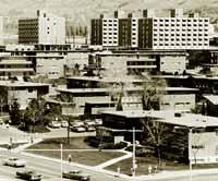 student housing built