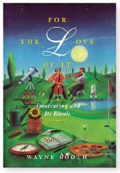 for the love of it book