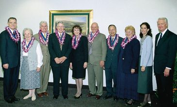 nine alumni honored