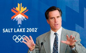 Mitt Romney at the 2002 Olympics