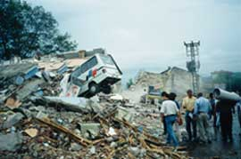 Turkish rubble