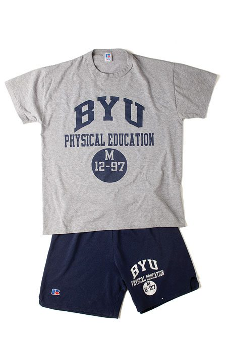 BYU Physical Education Clothes