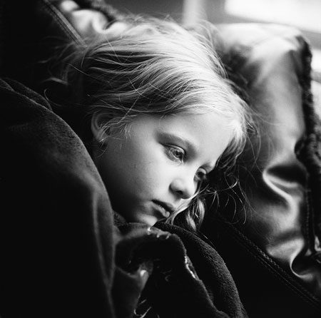 Despondent Young Girl
