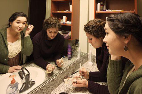 girls bathroom