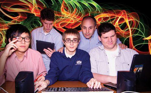 BYU's Cyber Challenge hacking team.