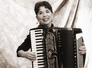 Accordion virtuosa Janet Tod used her taken tot make friends for BYU. After taking a break to focus on her family, she returned to professional performing in 2001.