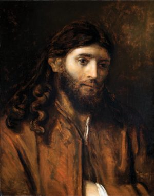 Head of Christ, Circle of Rembrandt