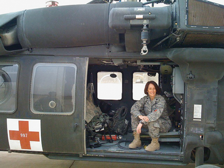 Jennifer McCleve Air force Nurse