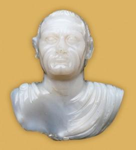 Roman Bust of Emperor Vespasian