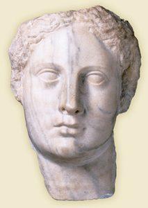Greek Head of Isis