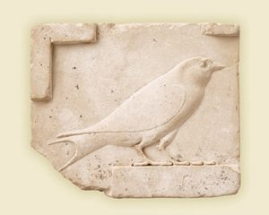 Egyptian Relief of a swallow