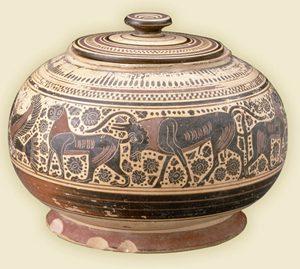 Greek Pot Lekanis