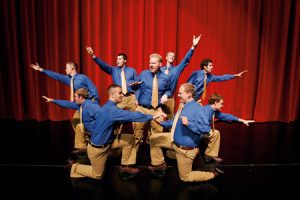 BYU's all-male a cappella group, Vocal Point, took first place at the 2006 ICCA finals in New York, wowing judges and audiences alike.
