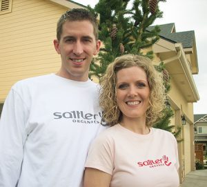 David and Rebecca Sattler use their eco-friendly clothing company to give back.