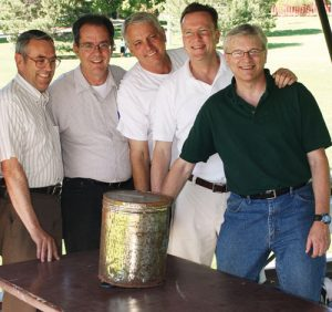 Thirty years after hiding a time capsule in their BYU apartment, former roommates reconvened in Provoto open the repository, in which they found memories they expected--and a little bit more.