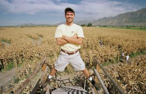 Brett Herbst and his team create more than 200 cornfield mazes a year.
