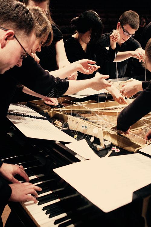 Bowed Piano