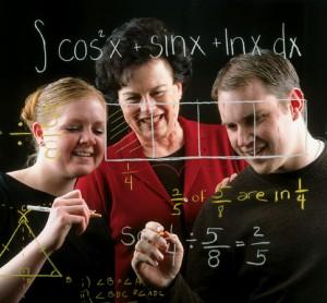 adults doing math