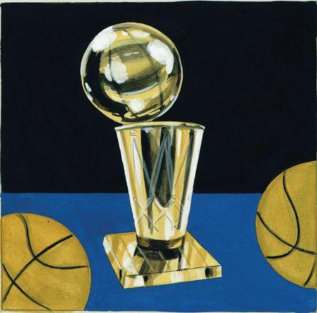 trophy for Danny Ainge