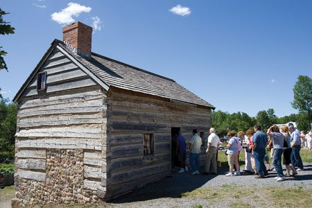 Joseph Smith family log home