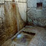 Water Channel at Machu Picchu