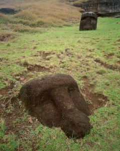 Stone Head at Easter Island