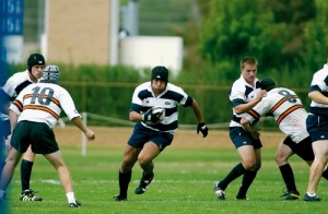 A BYU rugby team captain, Salesi Sika works hard and plays hard, as he prepared for both a college degree and the 2007 World Cup.