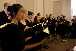 Several BYU graduates in Illinois found a way to continue singing by creating a choir composed mostly of alumni.