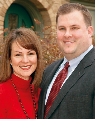 Amy Kunz and Garth Fenegan